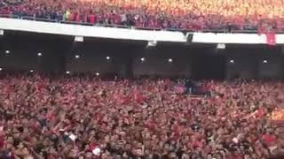 تشجيع نارى من جماهير الأهلى المصرى فى مباراة النجم الساحلي | اغنية حارب على البطولة الجديدة 2017