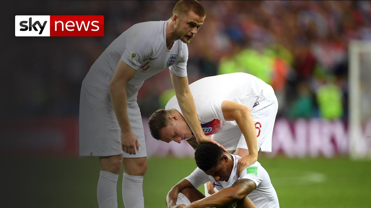England leaves the dream behind in Russia