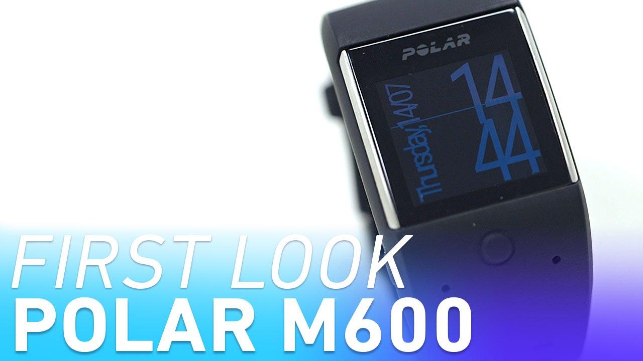 Polar M600 smartwatch first look