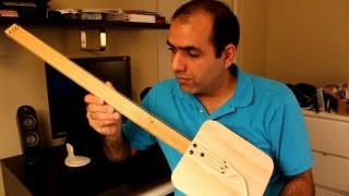 How NOT to Make an Electric Guitar (The Hazards of Electricity) thumbnail
