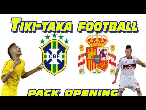 No More Tiki-Taka Football? Pack opening Fifa 13