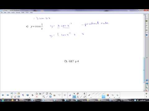 U5L5 Derivatives of Sine and Cosine: Calculus