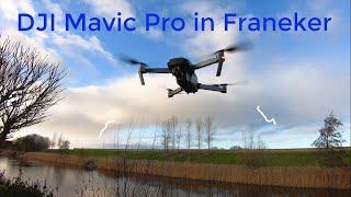 Bekijk de wijk witsens in Franeker vanuit de DJI Mavic pro drone.