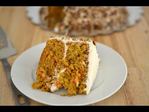 CARROT CAKE   How To Make A Carrot Cake   SyS