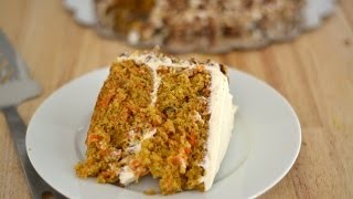 Carrot Cake Recipe - How To Make Carrot Cake - Sweet Y Salado