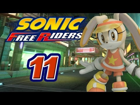 Sonic Free Riders #11 [XBox 360] - Team Rose vs. Team Babylon