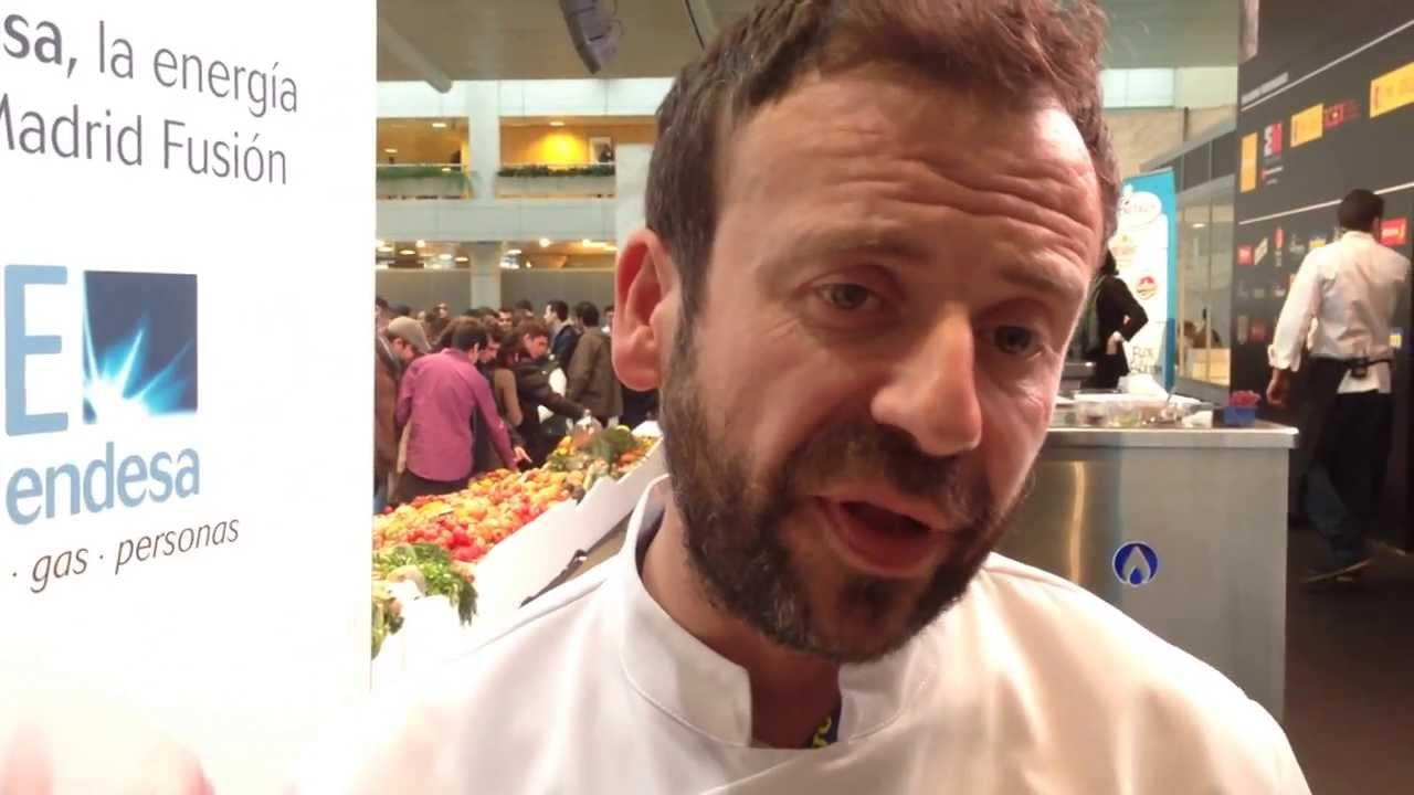 Nacho manzano de pinche de cocina en madrid fusi n youtube - Pinche de cocina ...