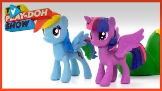 Playdoh Guide My Little Pony Friendship Day Special   Stop Motion  The Play-doh Show