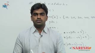 Pointers | C Technical Interview Questions and Answers | Mr. Srinivas