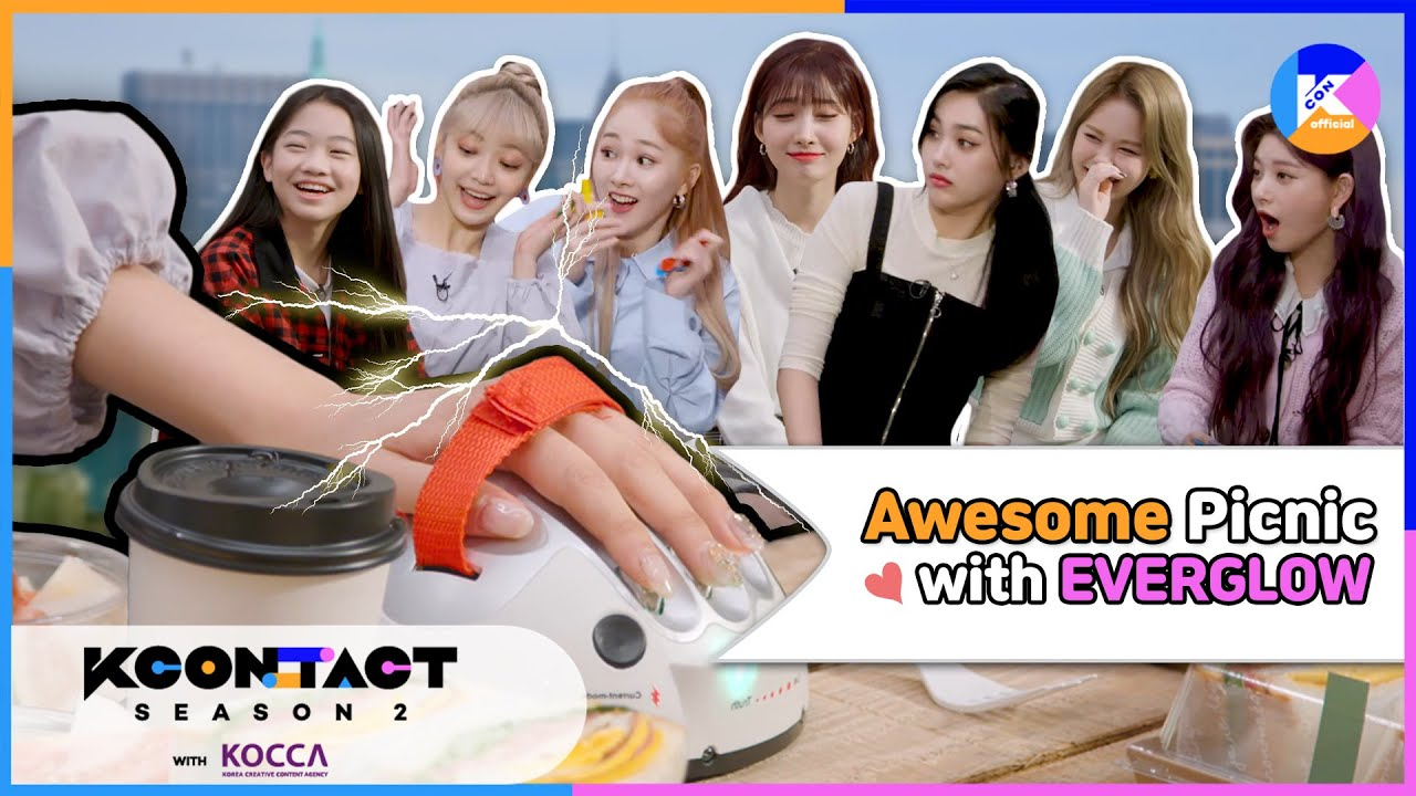 [KCON STUDIO X DIA TV] Awesome Picnic with EVERGLOW