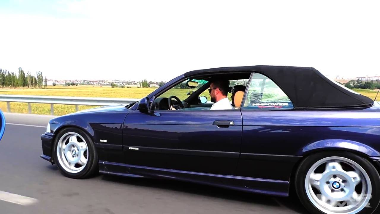 Bmw E36 M3 Evo Cabrio Vs Bmw E39 540i Automatic Rolling Youtube