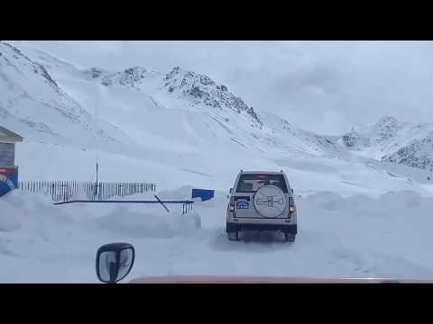Highway to World Highest ATM machine   Winter
