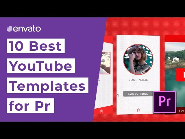 10 Best YouTube Templates for Premiere Pro [2019]
