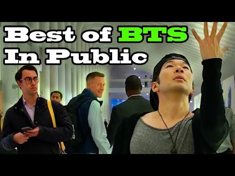 DANCING KPOP IN PUBLIC COMPILATION - BEST OF BTS by QPark!!