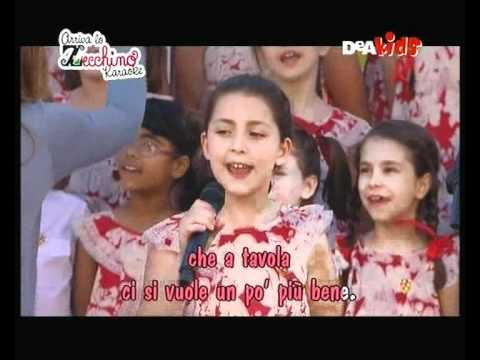 Arriva Lo Zecchino Karaoke - Tutti A Tavola