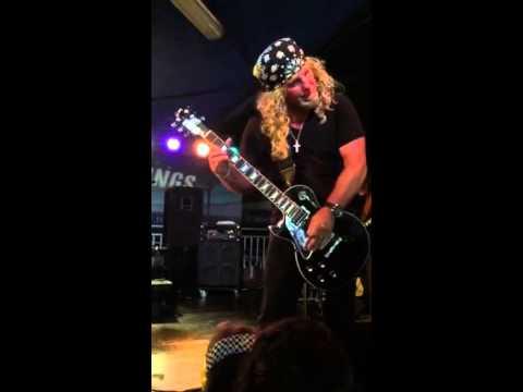 Whitesnake Tribute NIGHTSNAKE Jeff Ellis Guitar Solo Lefty Guitarist