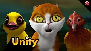 UNITY ♥ New Kathu (Kathu3) story for children ★ Best malayalam cartoon video for children ★ HD