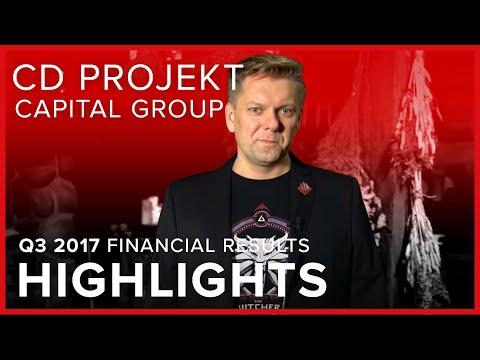 CD PROJEKT Capital Group - Q32017 financial results   HIGHLIGHTS