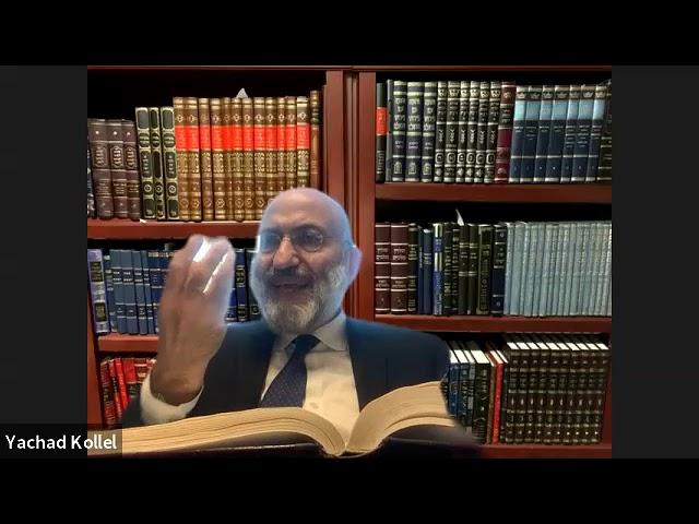 Hilchot Teshuva of Rambam  part 2- R. Avraham Levychaim