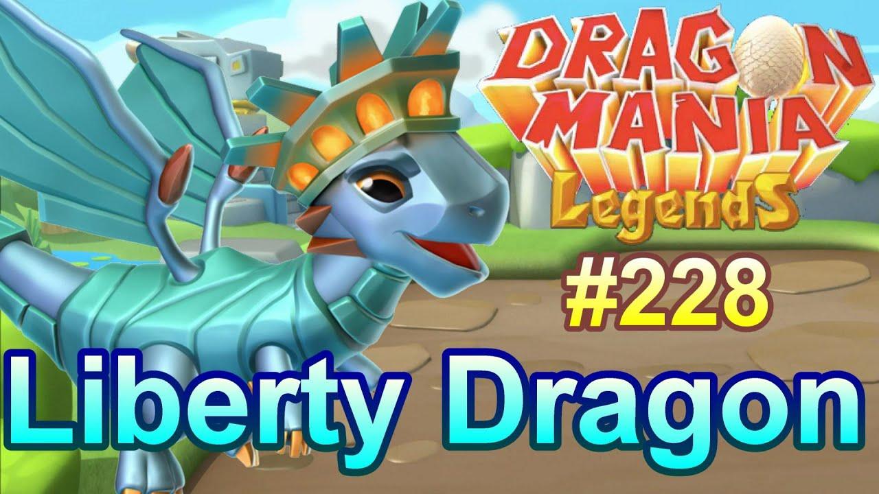New Liberty Dragon Freedoms Reward Event Dragon Mania Legends