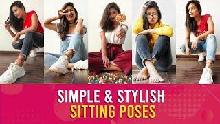Top 5 Best Sitting Poses For Girls Sitting Poses  Deas For  Nstagram Being Navi Vaishnavi Naik