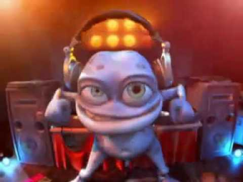 Crazy Frog DJ Popcorn Song, Crazy Frog VIDEO DJ the Popcorn Song, Funny