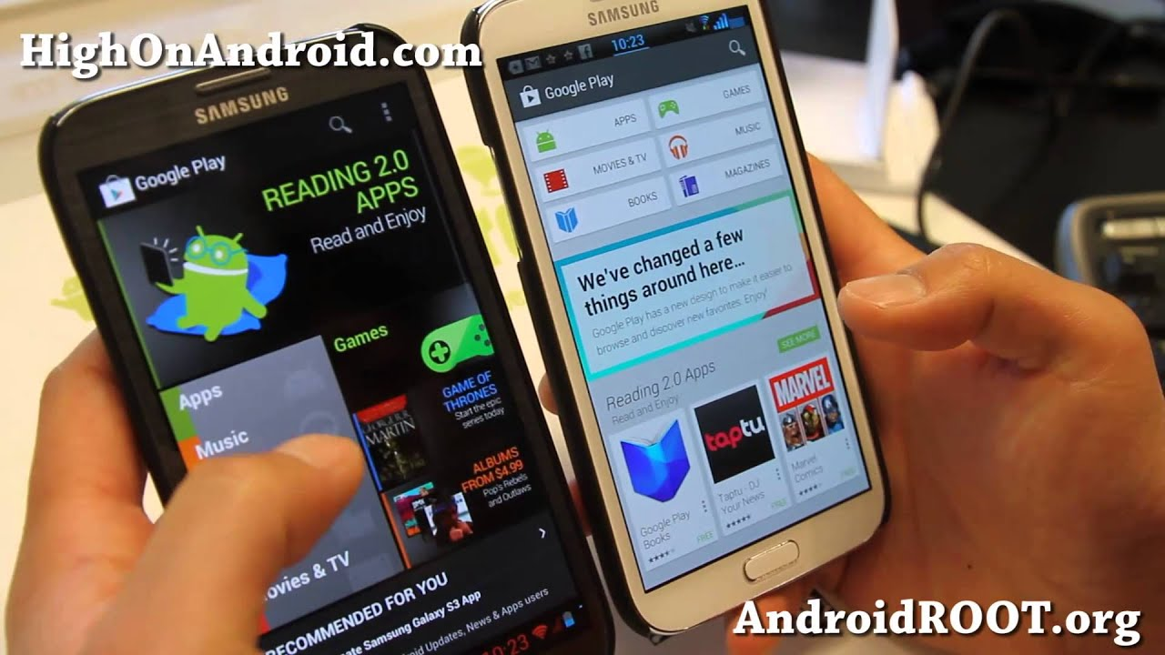 download play store galaxy s3