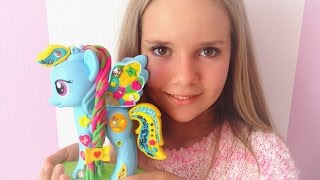 My Little Pony Play-Doh Rainbow dash. Май литтл пони Плей до