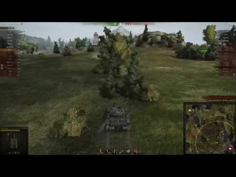 World of tanks Gameplay Funny Moment # WZ-132 I am Ninja