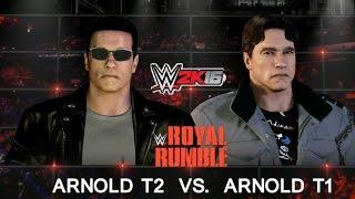 WWE 2K16 Арнольд
