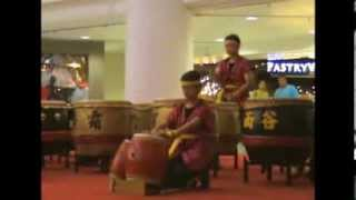 24-Seasons Drums Dance at Subang Parade on Chap Goh Meh and Valentine