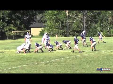 7th grader throws 8 TDs in high school game