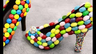 The SWEETEST Shoes You Can EAT | Chocolate, Candies & Sprinkles