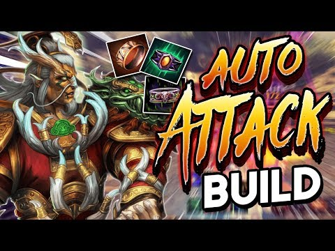 Smite: Auto Attack Ao Kuang Build - THE BEST OUTPLAY!
