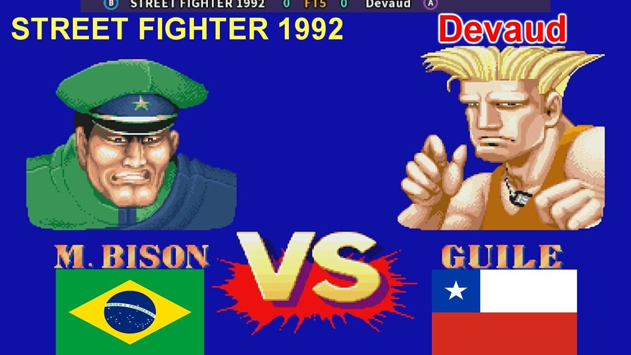 Street Fighter II': Champion Edition - STREET FIGHTER 1992 vs Devaud FT5