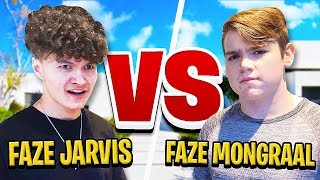 FaZe Jarvis Vs FaZe Mongraal in PERSON (CONFRONTING for Fortnite 1v1)