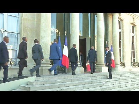 Comores, Le président Azali Assoumani reçu au palais de l'Élysée