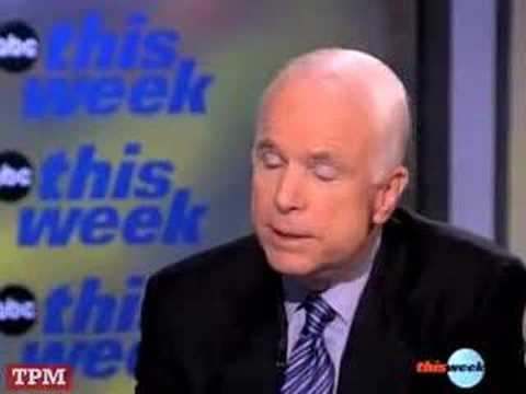 McCain's Straight Talk on John Hagee