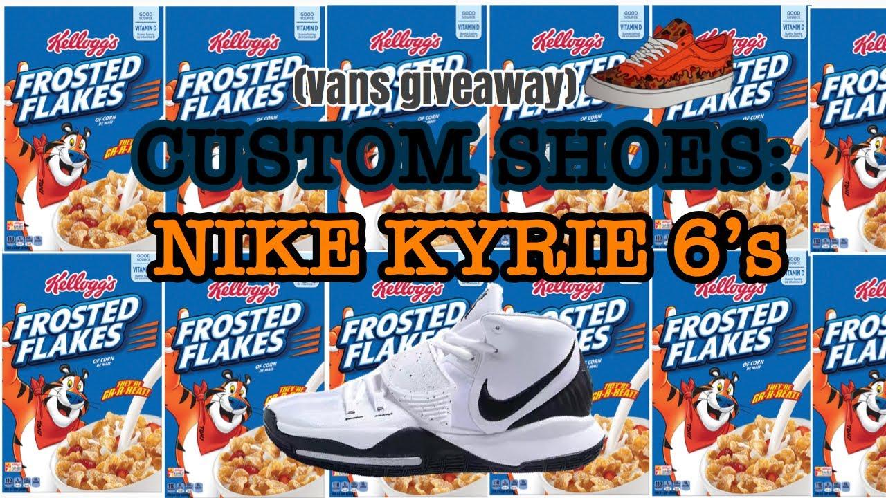 Custom Shoes: NIKE Kyrie 6's *Inspired