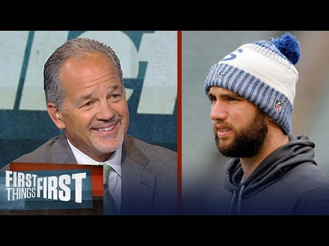 Chuck Pagano on Colts' Andrew Luck and why he'd love to have Dez Bryant | NFL | FIRST THINGS FIRST