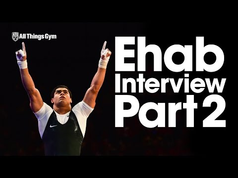 Mohamed Ehab Interview Part 2 of 3 Training , Recapping London, Almaty, Houston