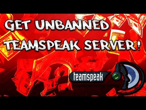 How To Get Unbanned From Any TeamSpeak Server!