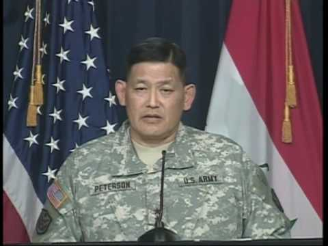 OASD: DOD PRESS BRIEFING WITH MAJ. GEN. JOSEPH PETERSON FROM
