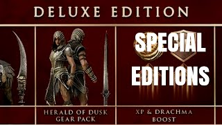 Assassin's Creed Odyssey - All Special Editions
