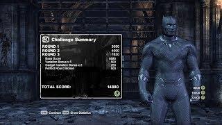 Batman: Arkham City - Black Panther skin mod