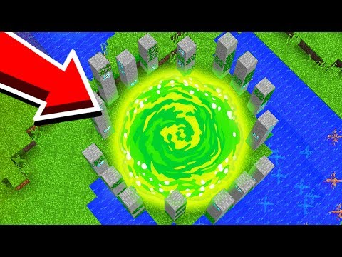 I found a NEW *SECRET* Minecraft PORTAL!