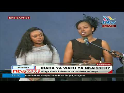Soila Nkaisserry eulogises her late father Joseph Nkaisserry