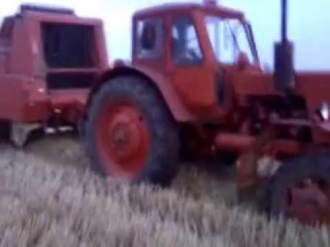 Repeat Mtz 52+Hesston M1301 Szalma Bálázás by tothpetermtz92