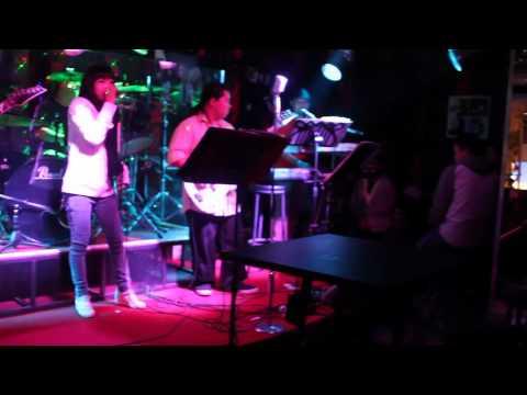 Great song in Karaoke Bar in Laos