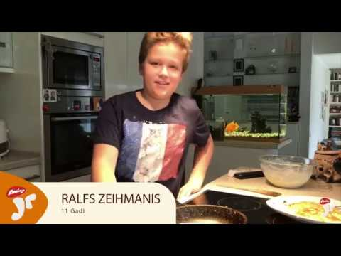 Amigo Juniori finālists - Ralfs Zeihmanis